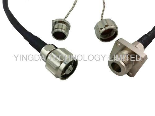 LC Duplex Optical Fiber Patch Cord FTTA Fiber Optic Jumpers ODC Male Connector