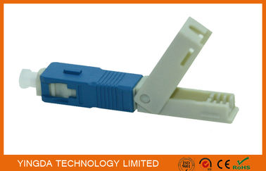 FTTH Field Mechanical Connector SC / UPC SM SX SC Fast Fiber Optic Connectors