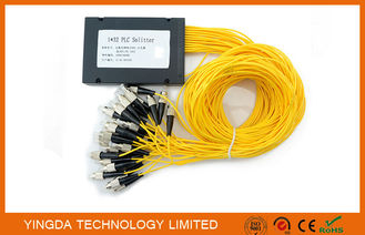 Chiny GPON Low PDL 1*32 FC PLC Fiber Optic Splitter ABS Plastic For Data Communication dostawca
