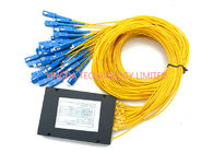 Custom PON 1x32 SC Fiber Optic PLC Splitter Loss /  FTTH and CATV Splitter dostawca