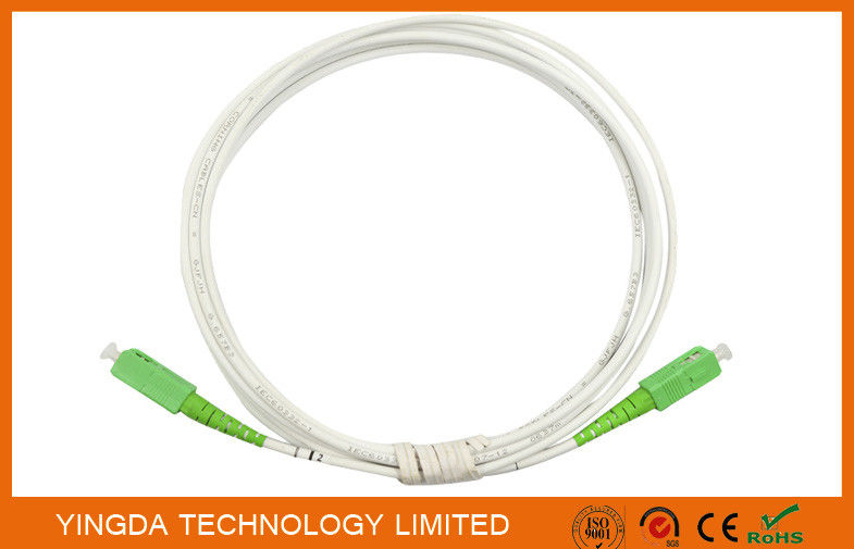 SC / APC - SC / APC Indoor Fiber Optic Patch Cord GJXFH G657A2 LSZH dostawca