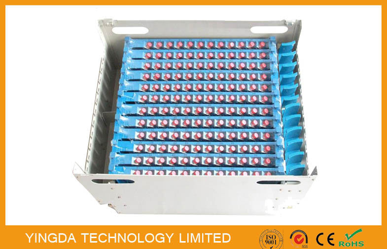 144 Core FC SC LC ST Connector ODF Fiber Optic Patch Panels Unit Cassette Fully Load dostawca