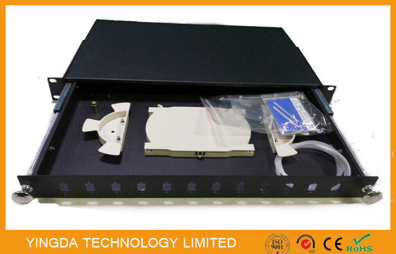 Corrosion Resistance Optical Fibre Patch Panel Pull - push Type , Termination Box dostawca