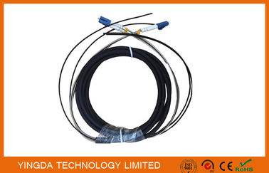 Chiny DLC 2 Core FTTA Fibre Optic Patch Cord Outdoor For Base Sation dystrybutor