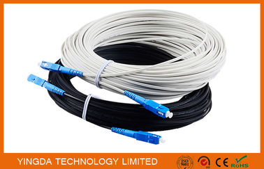 Chiny Outdoor Fiber Optic Patch Cord FTTH Network Patch Cable 1 Core SC / UPC - SC / UPC 40M dystrybutor